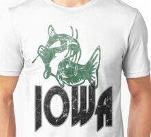 FISH IOWA VINTAGE LOGO Unisex T-Shirt
