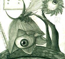Eyeball Flowers by BlackRose108