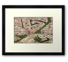Paris or Just a Model? Framed Print
