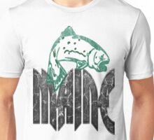 FISH MAINE VINTAGE LOGO Unisex T-Shirt