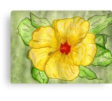 Kathy's Hawaiian State Flower Canvas Print