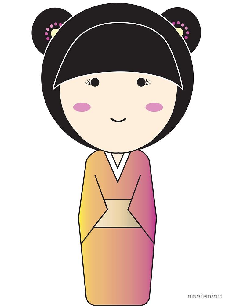 Yukata- Dotted Bear Ears by meehantom