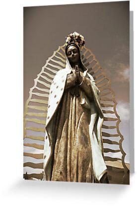 Virgen de Guadalupe by Angelo Sandoval