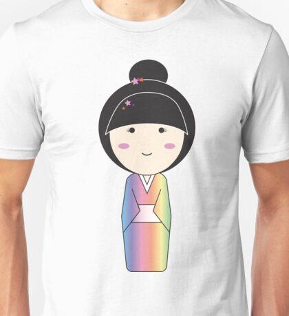 Yukata- Starred Bun Unisex T-Shirt