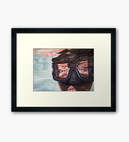 The Elements II: Water Framed Print