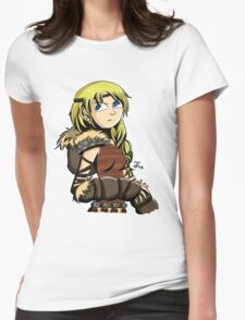 HTTYD2 -- Astrid  Womens Fitted T-Shirt