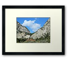 Colorado Sky Framed Print