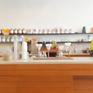 Defocused Coffee Shop Counter by visualspectrum