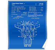 Transformers Patent - Blueprint Poster