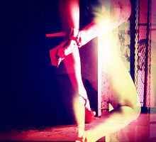 Red Heels Ghost Image II by AnkhaDesh
