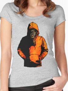 vulpes pilum mutat, non mores (Colour Shirt Version) Women's Fitted Scoop T-Shirt