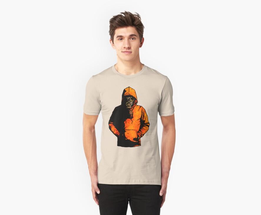 vulpes pilum mutat, non mores (Colour Shirt Version) by matthewdunnart