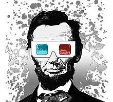 Abraham Lincoln - 3D (2) by Adamzworld