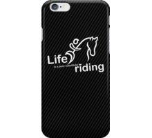 Riding v Life iPhone Case/Skin