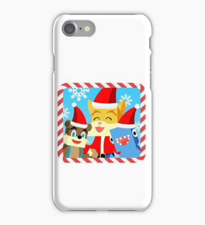 Minecraft Youtuber Stampy Cat, iBallisticsquid, L for Lee x (Christmas, Holiday, Winter Limited Edition) iPhone Case/Skin