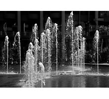 Fountains Playing Photographic Print