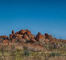 Ancient Rock, Ancient Land by Greta van der Rol