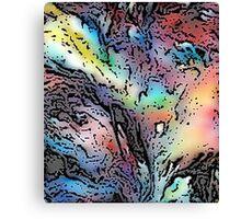 Movement - Abstract Digital Print Canvas Print