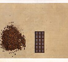 Cacao Nibs & Chocolate Bar by visualspectrum