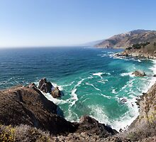 Big Sur Coastline by visualspectrum