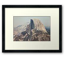 Half Dome in Yosemite National Park Framed Print