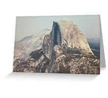Half Dome in Yosemite National Park Greeting Card