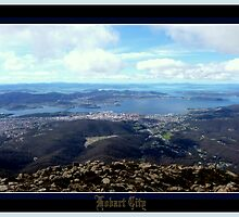 *HOBART+CITY*^*Mt WELLINGTON* by Ritchard Mifsud