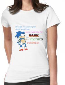 Dank Sonic Womens Fitted T-Shirt