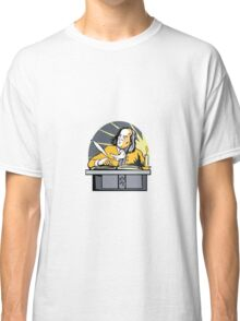 Ben Franklin Writing Retro Classic T-Shirt
