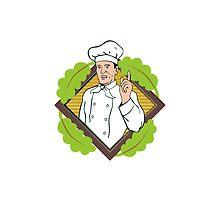 Chef Cook Baker by patrimonio