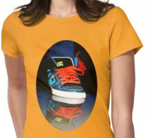✾◕‿◕✾SNEAKER REFLECTION TEE SHIRT (UNISEX TEE SHIRTS)✾◕‿◕✾ Womens Fitted T-Shirt