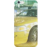 new york taxi 02 iPhone Case/Skin