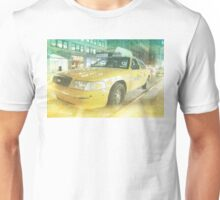 new york taxi 02 Unisex T-Shirt