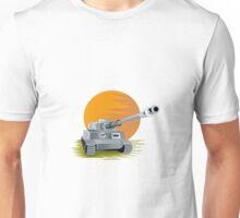 World War Two Panzer Battle Tank Unisex T-Shirt