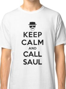 Keep Calm and Call Saul - black color Classic T-Shirt