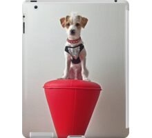 Dog on a Stool iPad Case/Skin