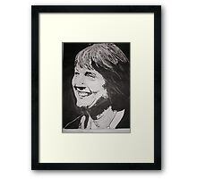 Harriet Harman MP Framed Print