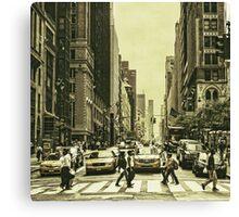 Urbanites Canvas Print