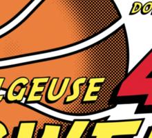 Intergalactic Basketball Sticker