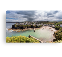 Port Isaac - Cornwall Canvas Print