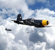 Vought Corsair - Mission Strike by Pat Speirs