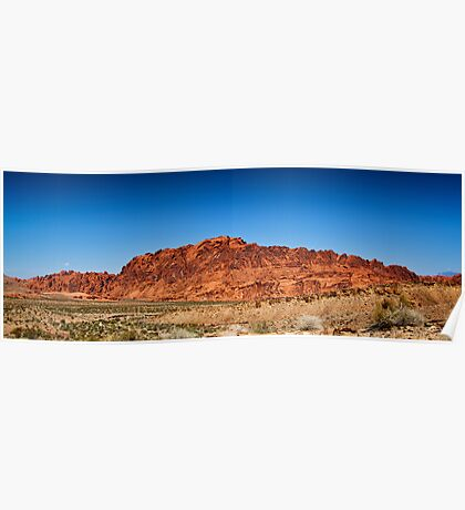 Valley Of Fire in Nevada Poster