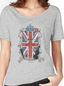Sherlock Holmes inspired crest Women's Relaxed Fit T-Shirt