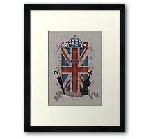 Sherlock Holmes inspired crest Framed Print