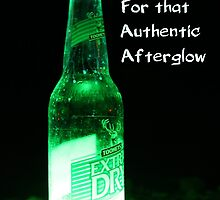 Atomic Beer - For that Authentic Afterglow  by RickLionheart