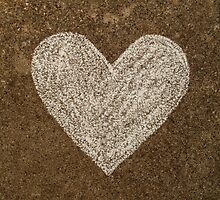 Chalk Heart  by Fay Freshwater