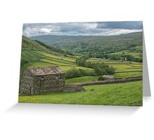 Barns in Swaledale Greeting Card