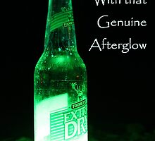 Atomic Beer - With that Genuine Afterglow  by RickLionheart