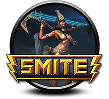 Smite Neith Logo Photographic Print
