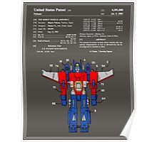 Transformers Patent - Colour Poster